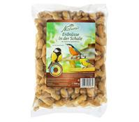 Dehner Natura Erdnüsse in der Schale, Wildvogelfutter, 500 g