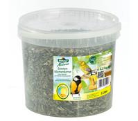 Dehner Natura Sonnenblumenkerne, Wildvogelfutter, 5 Liter