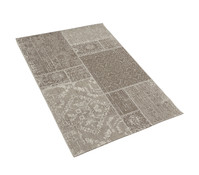 Dehner Outdoor-Teppich braun