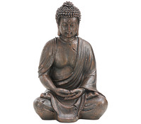 Dehner Polyresin-Buddha, 27 x 20,5 x 39 cm