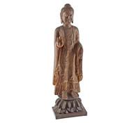 Dehner Polyresin Buddha stehend, 100 cm