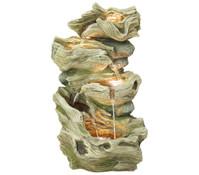Dehner Polyresin-Gartenbrunnen Albero, 47 x 41 x 77 cm
