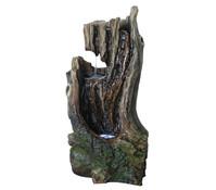 Dehner Polyresin-Gartenbrunnen Foresta, 37 x 29 x 65,5 cm