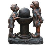 Dehner Polyresin-Gartenbrunnen Mia & Ben, 58 x 28 x 68,5 cm