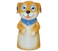 Dehner Polyresin Solar-Zaunfigur Hund