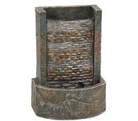 Dehner Polyresin-Zimmerbrunnen Girona, beleuchtet, 11,8 x 17 x 25 cm