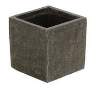 Dehner Polystone-Pflanzgefäß, grau