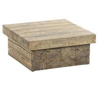 Dehner Premium Lounge Tisch Brampton, 91,4 x 91,4 x 40 cm