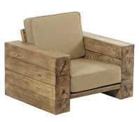 Dehner Premium Sessel Brampton, 101,6 x 86,3 x 66 cm