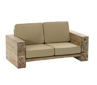Dehner Premium Sofa Brampton, 2-Sitzer, 102 x 86,5 x 66 cm