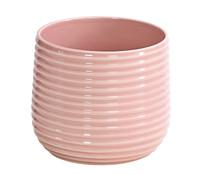 Dehner Premium Übertopf aus Keramik, rund