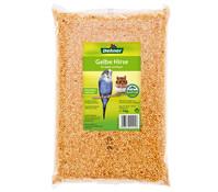 Dehner Qualitätsfutter Gelbe Hirse für Vögel und Nager, 1 kg