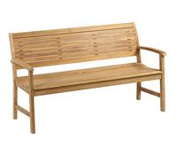 Dehner Teakbank Cullen, 3-Sitzer, 150 x 62 x 89 cm