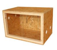 Dehner Terra Terrarium Classic, 60x40x40 cm