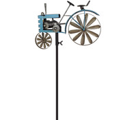 Dehner Windrad Traktor, blau, 130 cm