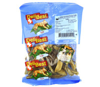 DeliBest Light Kaustreifen mit Grünmuschelextrakt, Hundesnack, 120g