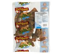 DeliBest Light Straußenfleischmägen, Hundesnack, 200g