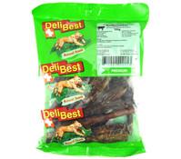 DeliBest Natural Rindfleischsticks, Hundesnack, 200 g