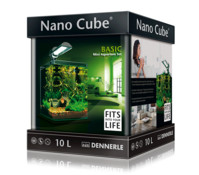 Dennerle NanoCube Basic, Mini-Aquarium-Set