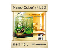 Dennerle NanoCube Complete Plus LED, Mini Aquarium-Set