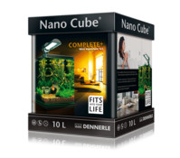 Dennerle NanoCube Complete Plus Mini Aquarium-Set