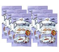 Dreamies® Ente, Katzensnack, 6x60 g