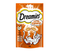 Dreamies® Extra Crunch, Katzensnack, 60 g