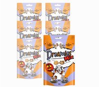 Dreamies® Mix Huhn & Ente, Katzensnack, 6x60 g