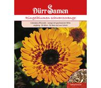 Dürr Samen Ringelblume 'schwarzorange'