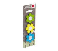 Emsa Daisy Clip Mix 3er Set für Blumentopf, bunt