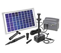 esotec Solarpumpensystem Napoli LED für den Gartenteich