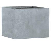Esteras Polystone-Blumenkübel Lincoln, granit-grau