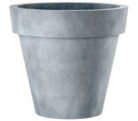 Esteras Polystone-Blumentopf Berry, granit-grau