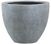Esteras Polystone-Blumentopf Egham, granit-grau
