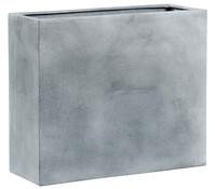 Esteras Polystone-Pflanzkasten Avon, granit-grau