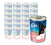 Felix Adult in Gelee, Nassfutter, 24 x 400g