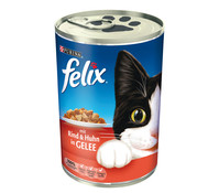 Felix Adult in Sauce oder Gelee, Nassfutter, 400g