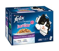 Felix So gut wie es aussieht Junior, Nassfutter, 12x100g