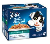 Felix so Gut wie es Aussieht, Nassfutter, 12x100g