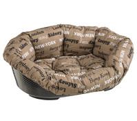 Ferplast Haustierbett mit Kissen für Hunde und Katzen