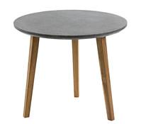 Fiberzement-Tisch Roca, Ø 90 x 75 cm