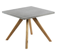 Fiberzement-Tisch Roca, 90 x 90 x 75 cm