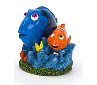 Findet Dorie - Dorie & Marlin auf Koralle, Aquariumdeko