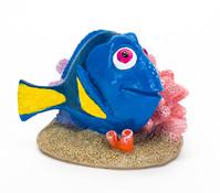 Findet Dorie - Dorie mit Koralle, Aquariumdeko