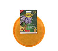 Flowerpad Pflanztopfeinleger, rund, orange