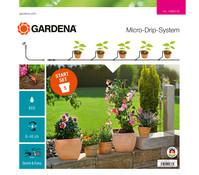 GARDENA Micro-Drip-System Start-Set Pflanztöpfe S