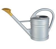 Geli Kunststoff-Gießkanne 10 Liter, silber
