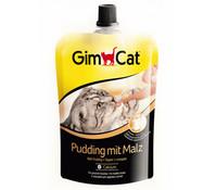 GimCat Pudding mit Malz, Katzensnack, 150 g