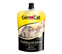 GimCat Pudding mit Sahne, Katzensnack, 150g