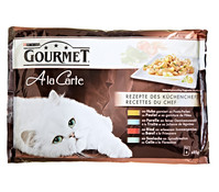 Gourmet A la Carte, Nassfutter, 4x85g